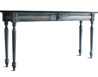Antique Console Table Etsy