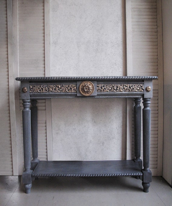 Chic Shabby Vanity Foyer Table Tables Side Table Antique Style Console Table Furniture Console Table Entry Table