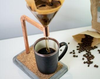 Coffee Pour Over in Copper & Concrete - Medium