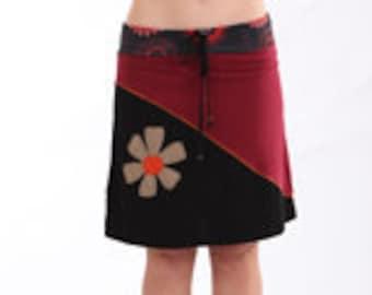 Bohemian style, Festival skirt, Funky Skirt, Office Skirt, Beach Wear