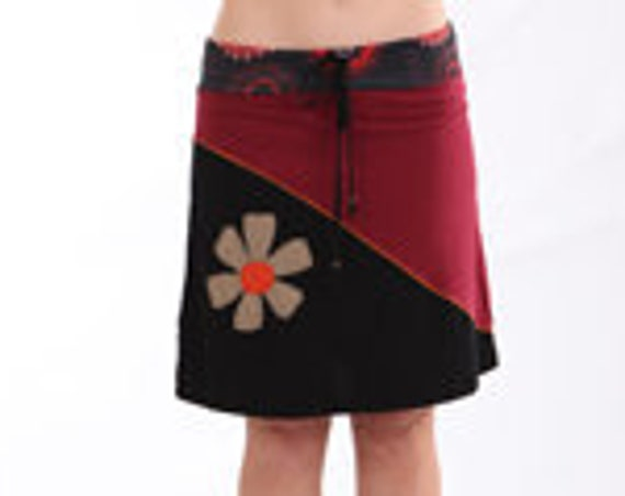 Bohemian style, Festival skirt, Funky Skirt, Office Skirt, Beach Wear