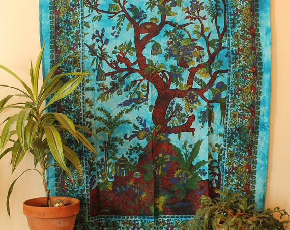 Tapestry, Wall Hanging, Bohemian Decor, Indian Decor,