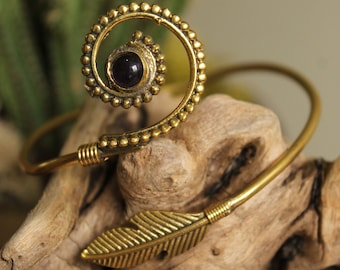 Brass Bracelet , Boho Bracelet , Tribal Bracelet, Gypsy Bracelet