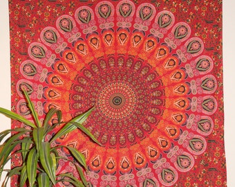 Tapestry, Wall Hanging, Bohemian Decor, Indian Decor