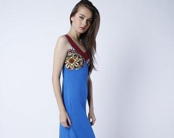 Maxi Dress, Long Dress, Cotton Dress, Summer Dress