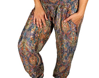 Aladdin pocket trousers , Palazzo trousers , soft , comfortable , yoga pants