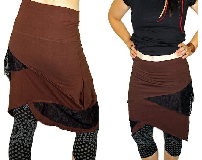 Pixie Skirt , Bohemian Style, Festival Skirt, Beach Wear, Summer Skirt, Mini Skirt