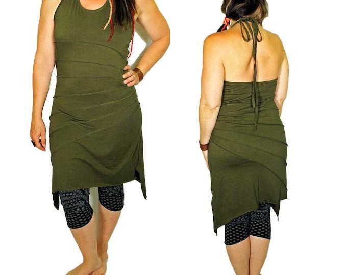 Pixie Dress , Festival Dress , Bohemian Dress , Steam Punk