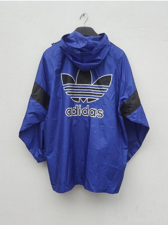 38050d2036 Vintage 90s adidas light jacket run dmc hip hop basketball