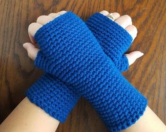Fingerless Gloves, Wrist Warmers, Crochet