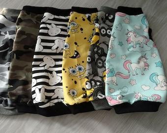 Katze Sphynx Kleidung Kleidung Hemd oben M Größe hohe Qualität Öko tex standart
