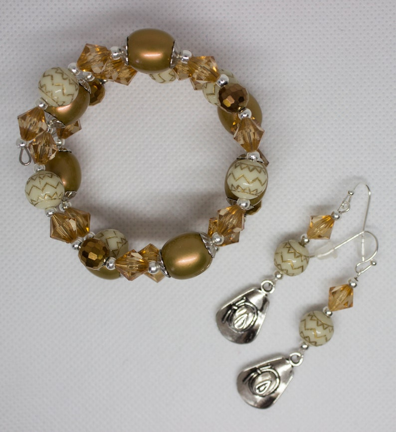County themed jewelry set