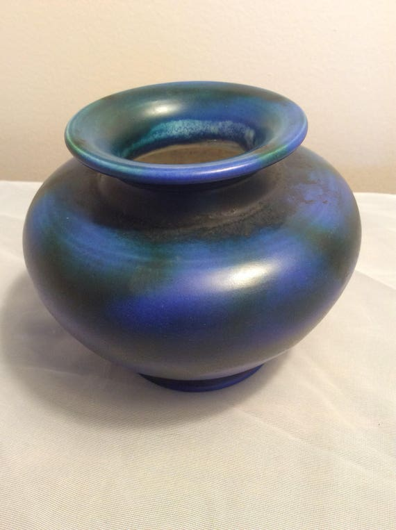 Antique Bretby Arts And Crafts Art Pottery Vase Etsy