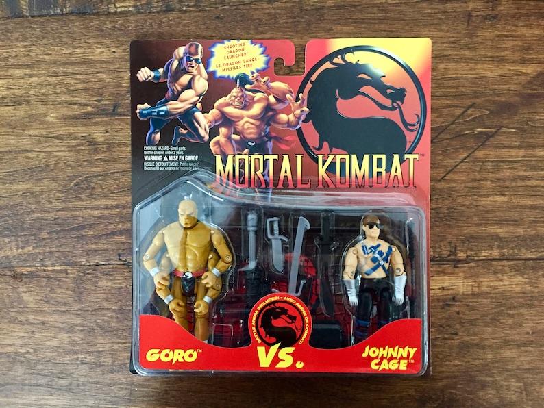 Take Your Pick! 1994 GI Joe Mortal Kombat Action Figures
