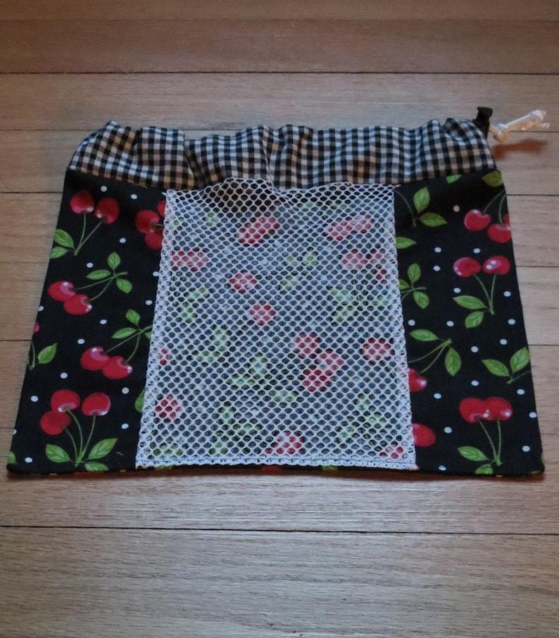 Small fabric produce bag