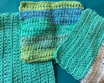 Set of 3 Washcloths or Dish cloths