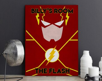 The Flash Room Decor Etsy