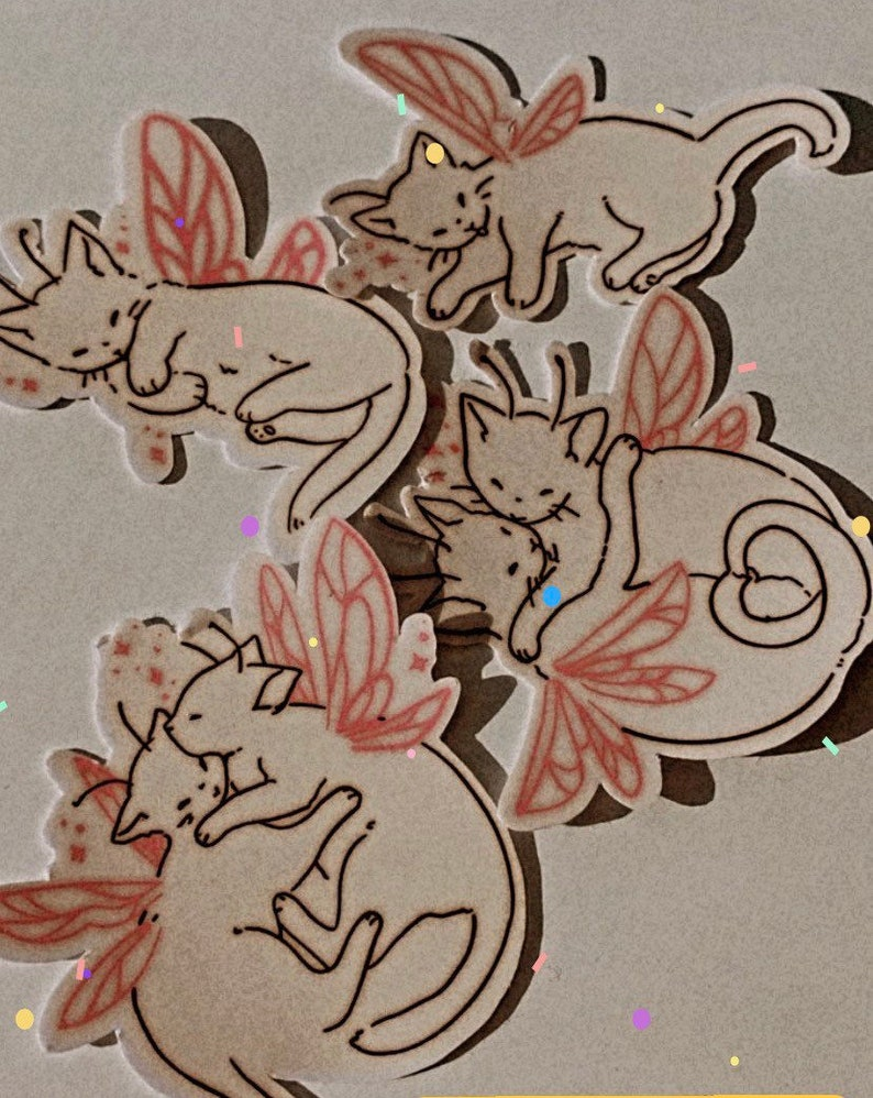 Love Kitten Stickers