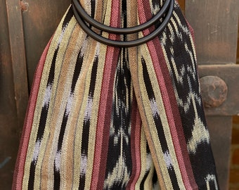 0f5009e5f7a Ikat Traditional Guatemalan 100% Cotton LIght Weight Ring Sling Baby  Carrier - Chapina Slings - NEVILLE