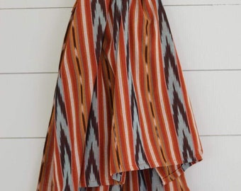 05f862ed1b3 Ikat Traditional Guatemalan 100% Cotton Lightweight Ring Sling Baby Carrier  - Chapina Slings-  Maize  dark bronze rings only