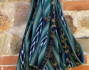 e3af0b0c0cc Ikat Traditional Guatemalan 100% Cotton Medium Heavy Weight Ring Sling Baby  Carrier - Chapina Slings-  Fir