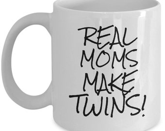 TWINS MOM GIFT Idea Twins Mom Mug Of Gift Funny Mama New Coffee Cup Birthday From Daughter