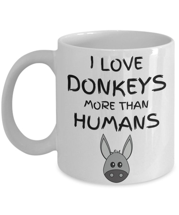 Get More Donkeys Gift Coffee Mug