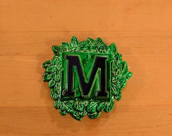 Mardi Gras Muses Street Tile Throw Magnet - Krewe of Muses