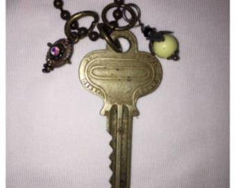 Vintage Key Necklace #3