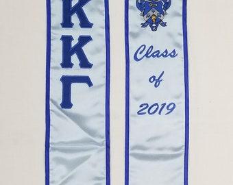 b35363e0301c Kappa Kappa Gamma of 2019 Graduation Stole
