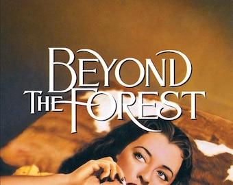Beyond the forest 1949 bette davis & joseph cotton dvd-r