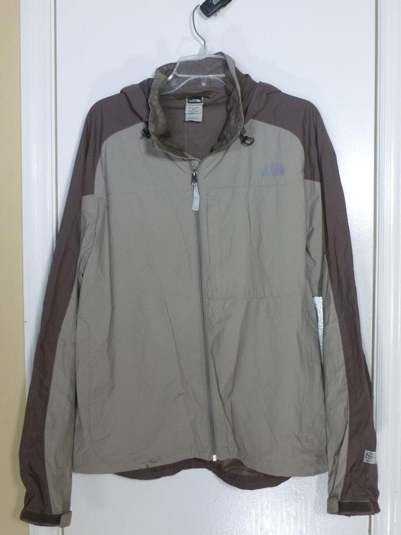 6f300d864 90's The North Face Jacket Vintage Beige nylon Windbreaker Large Men's