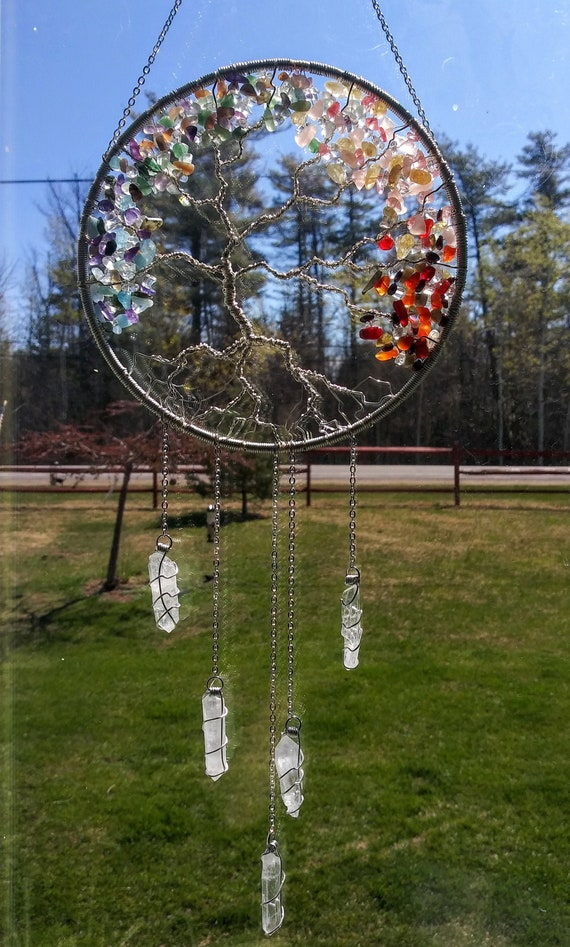 4 Seasons Tree of Life Suncatcher