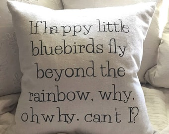 Over the Rainbow Pillow