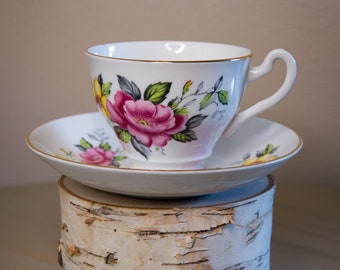 Hamilton Tea Cup and Saucer