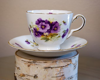 HM Sutherland tea cup and saucer