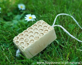 Honey Soap On A Rope