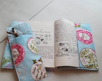 Reading book cover and glasses case