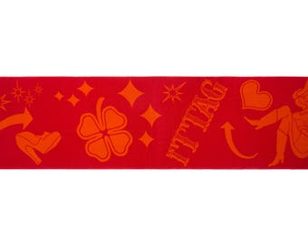 Red Neon Signs Scarf