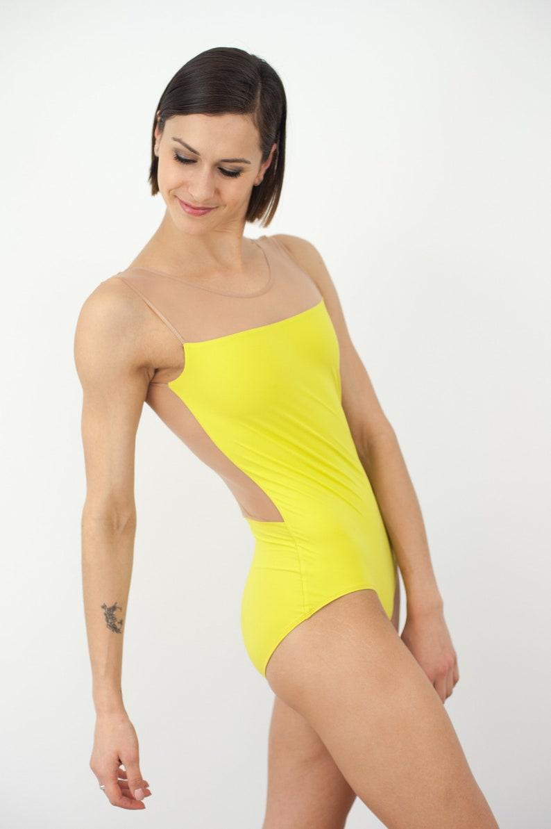 Ballet or Dance Leotard Custom Ballet Leotard Bodysuit Womens Leotard Dancewear With Mesh Pole dance bodysuit Gym /& training Gymnastics
