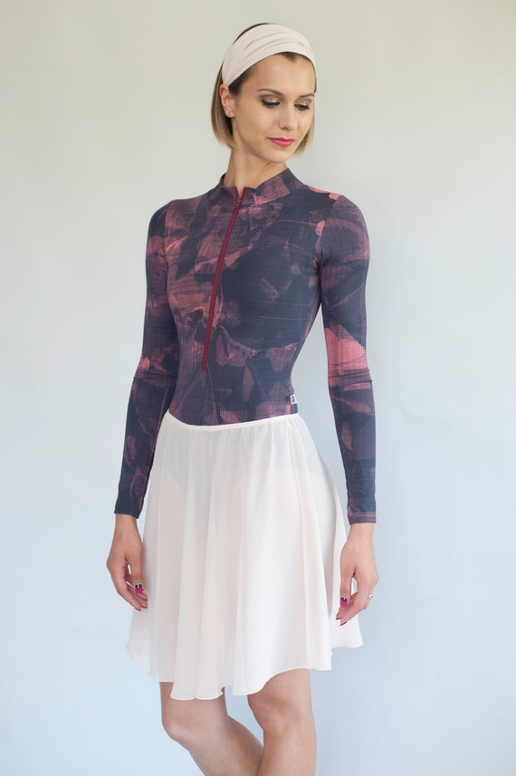 3dc9b0f71606 Chiffon Ballet Skirt Chiffon Dance Skirt Short Skirt Custom