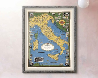 Old map of italy | Etsy Old World Map Of Italy on ancient maps of italy, cumae italy, online map venice italy, old map of florence italy, old maps prints, old style map of italy, old material, early people of italy, old naples italy, old world maps murals, old world cartography, old world style fabric, detailed map florence italy, towns in bari italy, old world rome, historical maps of italy, printable map italy, 13th century italy, old world italian, tunisia italy,