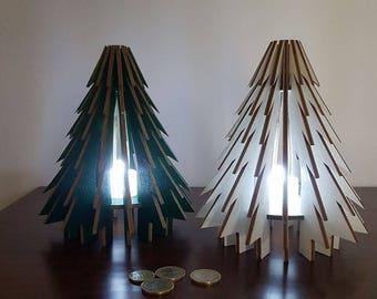 Wood Pine Abat-jour