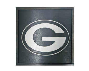 Green Bay Packers Sign - Packers Gift - Wisconsin - Mancave