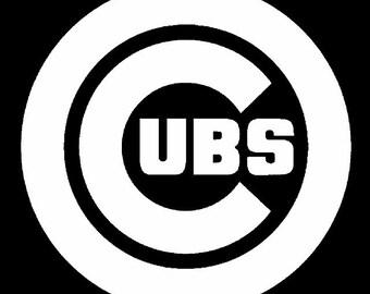 Chicago Cubs Digital Download .svg .dxf .crv