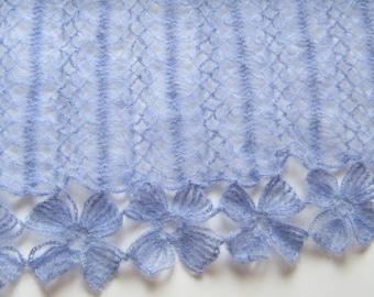 Crochet Mohair Stole Scarf