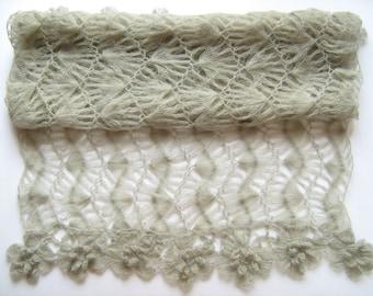 Crochet Mohair Stole
