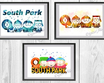 South ParkThe Fractured But Whole Game Poster Print T785 A4 A3 A2 A1 A0|