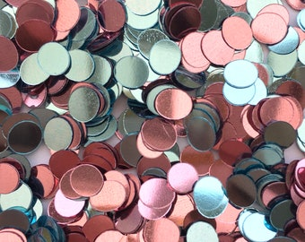 20% recycled PET sequins   5*6mm ovals   no holes   mixed colours