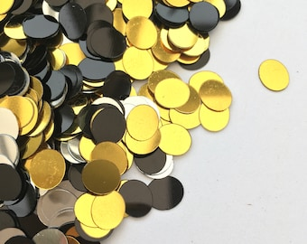 20% recycled PET sequins   7*8mm ovals   no holes   mixed colours